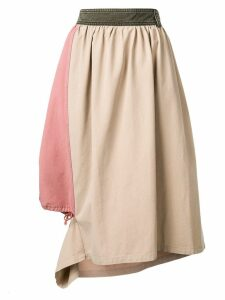 JW Anderson asymmetric skirt - Neutrals