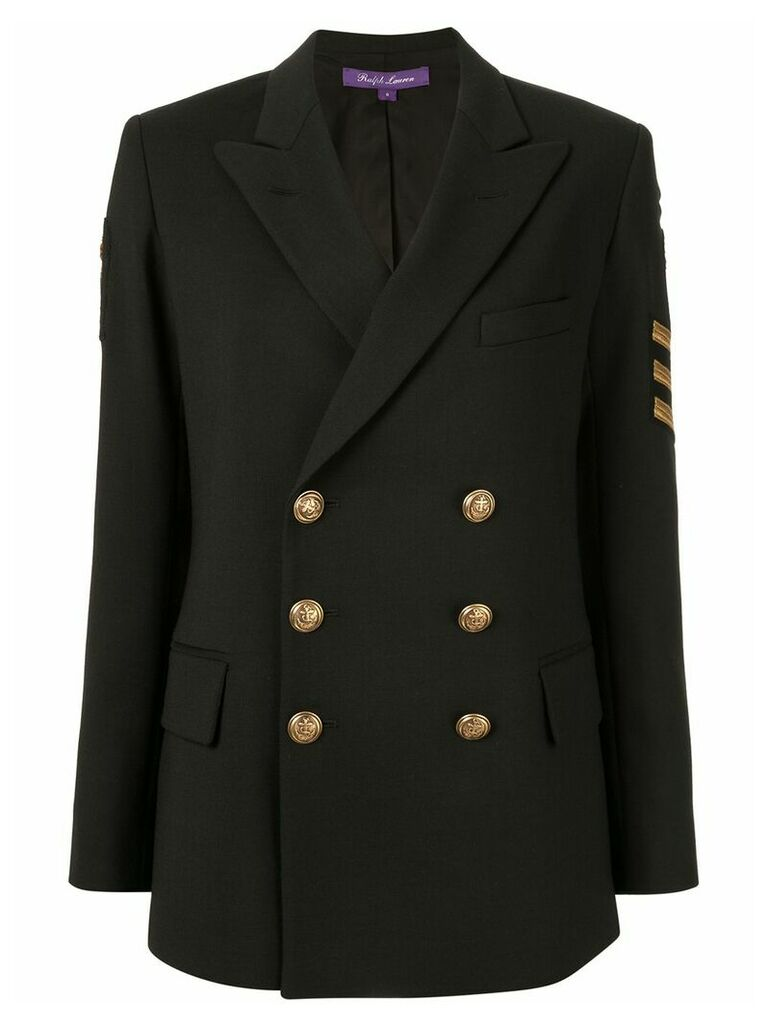 Ralph Lauren Collection structured blazer - Black