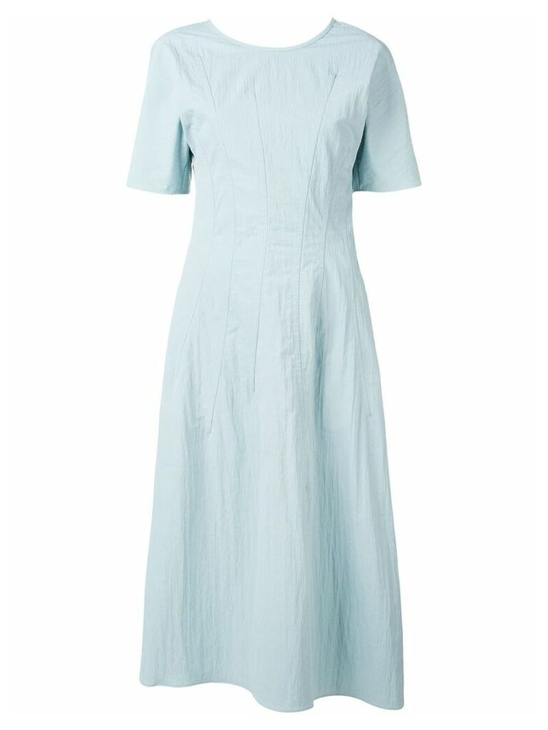 Jil Sander Girasole midi dress - Blue
