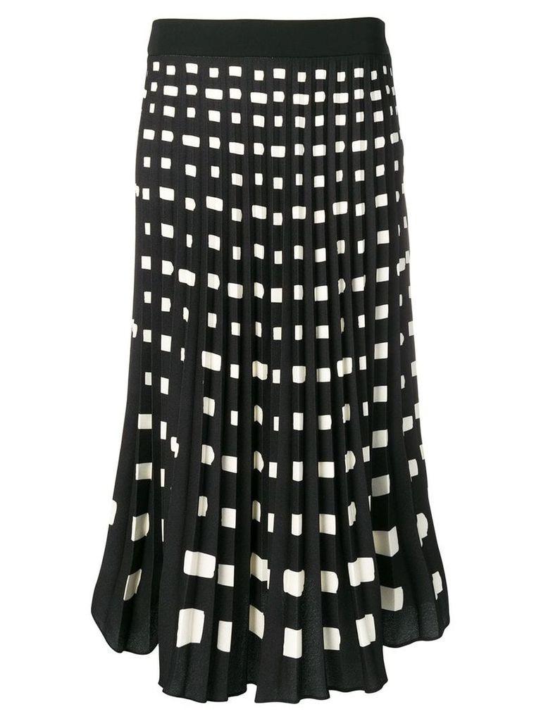 Ssheena pleated midi skirt - Black
