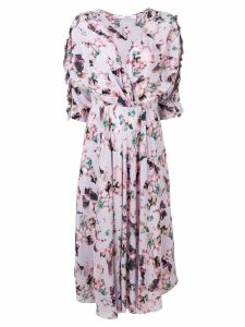 Iro purple floral dress