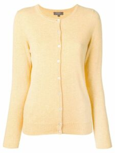 N.Peal round neck cardigan - Yellow