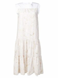 See By Chloé tiered summer dress - White