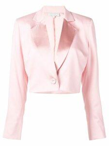 Fleur Du Mal cropped blazer - Pink