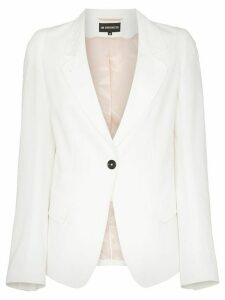 Ann Demeulemeester Single-breasted blazer - White