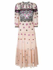 Temperley London constructed dress - Neutrals