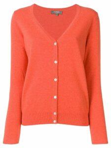 N.Peal v-neck cardigan - Orange