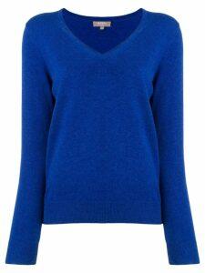 N.Peal V-neck sweater - Blue