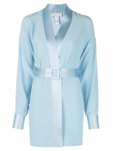 Fleur Du Mal mini blazer dress - Blue