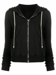Rick Owens DRKSHDW zip up hoodie - Black