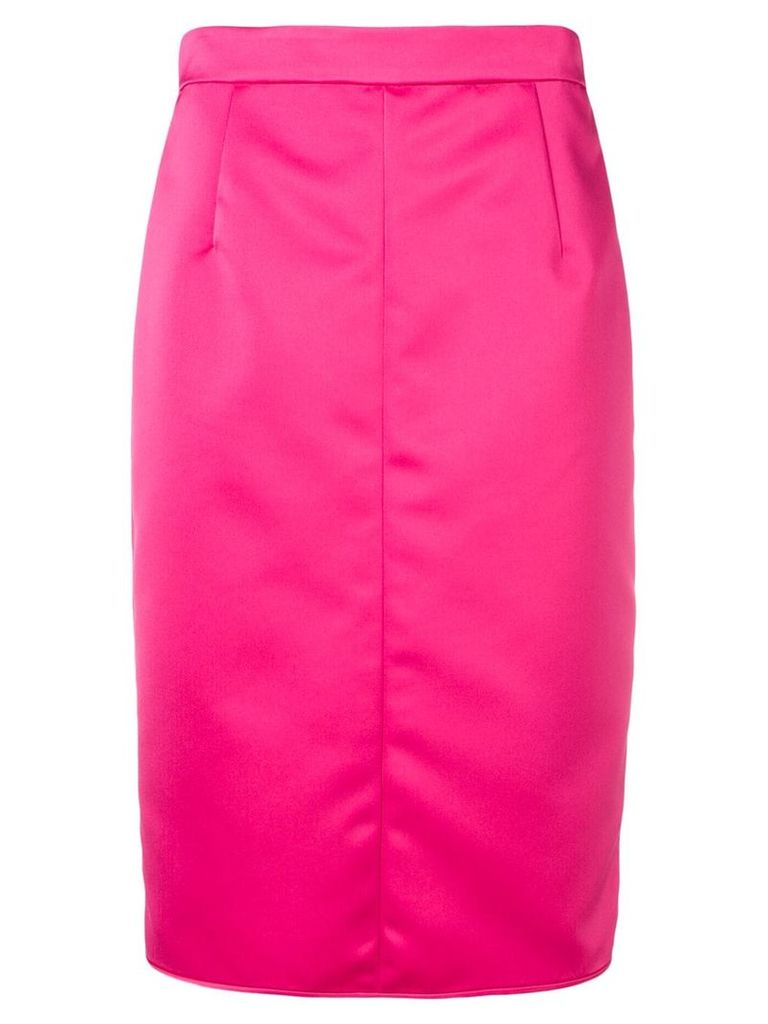 No21 panelled pencil skirt - Pink