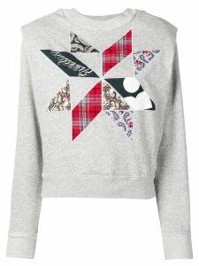 Isabel Marant Étoile patchwork sweatshirt - Grey