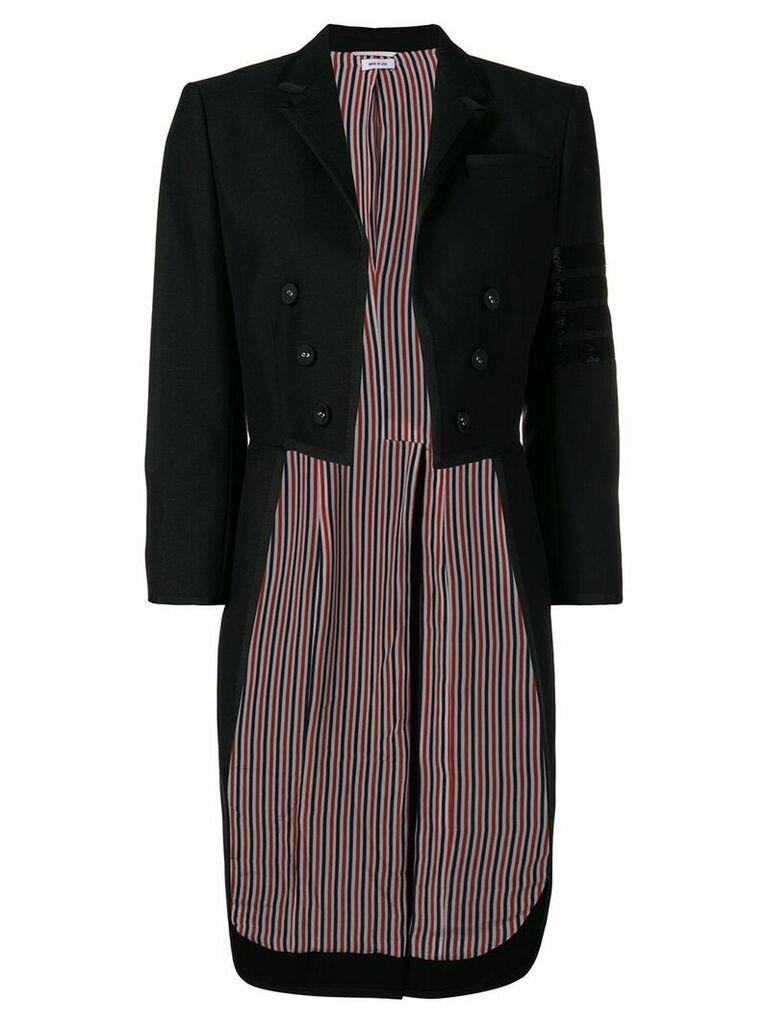 Thom Browne Bugle Bead 4-Bar Tailcoat - Black