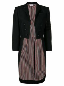 Thom Browne Bugle Bead 4-Bar Tailcoat - Black
