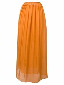 Forte Forte pleated front skirt - Orange