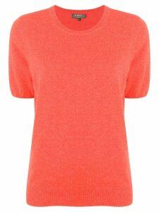 N.Peal shortsleeved knit top - Orange