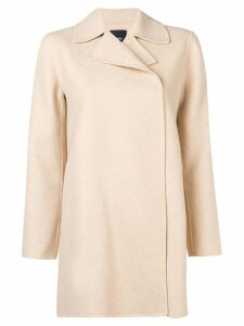 Theory off-centre jacket - Neutrals