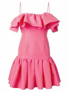 MSGM ruffled sleeveless dress - Pink