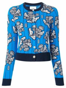 Barrie cashmere intarsia sweater - Blue