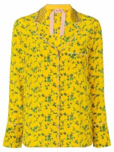 Nº21 floral print long-sleeve blouse - Yellow