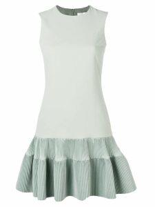 Victoria Victoria Beckham fitted peplum dress - Green