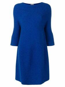 N.Peal bell sleeve tunic dress - Blue