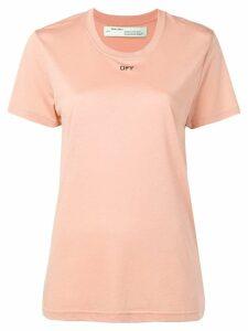 Off-White 'Off' logo print T-shirt - Neutrals