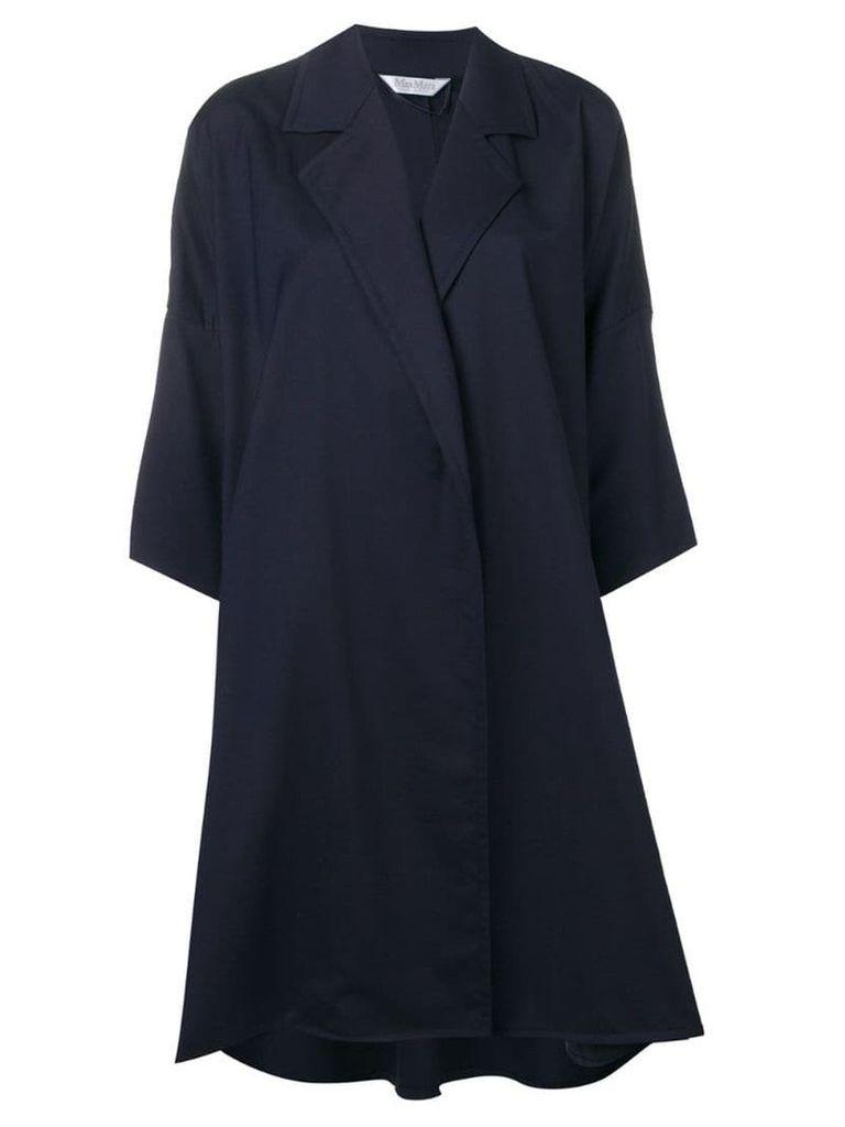 Max Mara duster coat - Blue