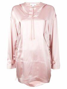 Fleur Du Mal anorak dress - Pink