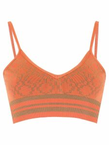 Nk knitted cropped top - Orange