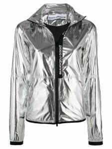 Paco Rabanne technical metallic jacket - Silver