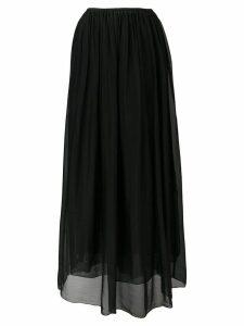 Forte Forte draped full skirt - Black
