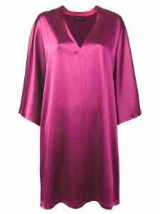 Gianluca Capannolo v-neck shift dress - Pink