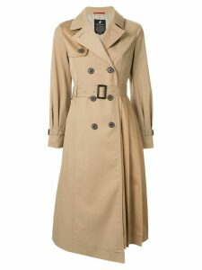 Loveless double-breasted trench coat - Neutrals
