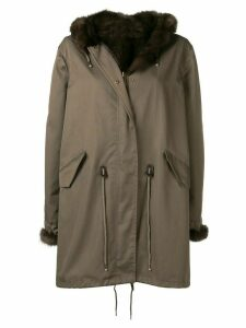 Liska hooded parka - Green