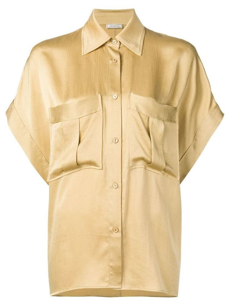 Nina Ricci satin shirt - Neutrals