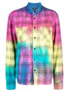 Amiri rainbow plaid shirt - Multicolour