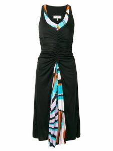 Emilio Pucci centre ruched dress - Black