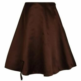 PRADA Bow Circle Skirt