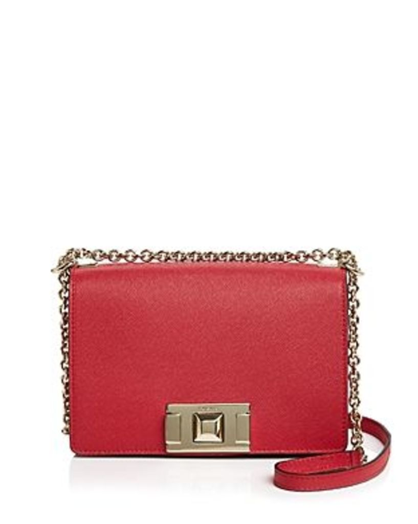 Furla Mimi Mini Leather Convertible Crossbody