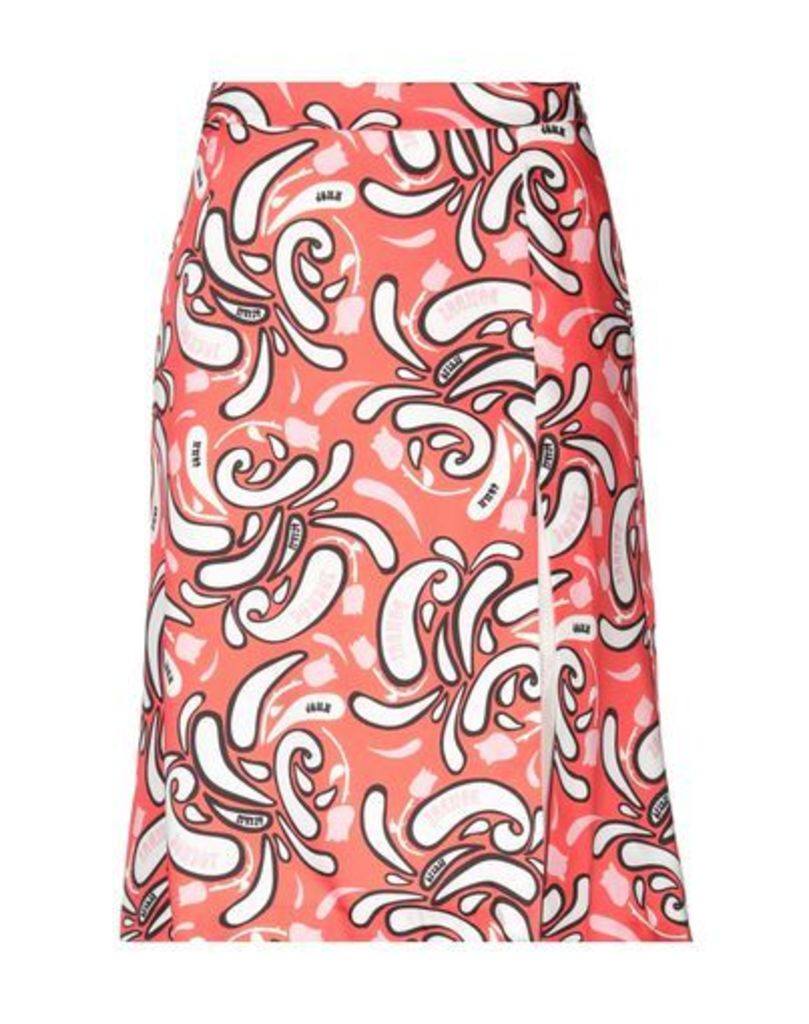 DONDUP SKIRTS Knee length skirts Women on YOOX.COM