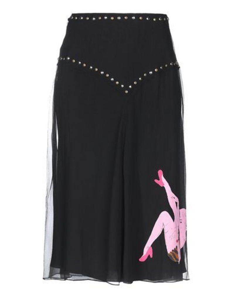 MOSCHINO SKIRTS 3/4 length skirts Women on YOOX.COM