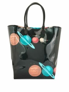 UNDERCOVER planets tote bag - Black