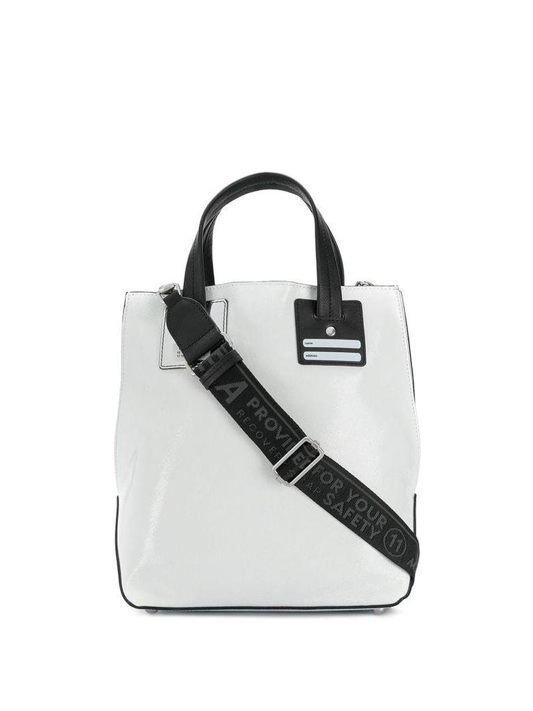 Maison Margiela structured shoulder bag - White