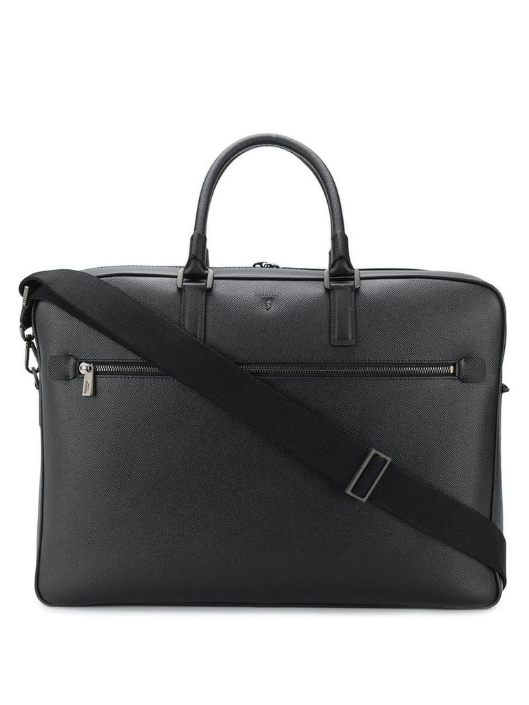 Serapian 48 hours briefcase - Black
