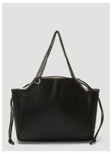 Stella McCartney Falabella Reversible Monogram Tote in Black and White size One Size