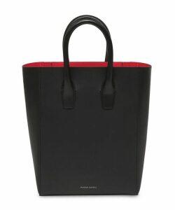 Leather Mini Ns Tote Bag