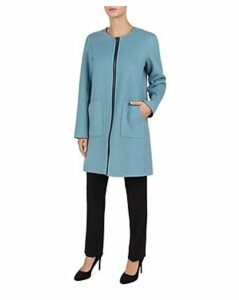 Gerard Darel Lexie Reversible Wool Coat