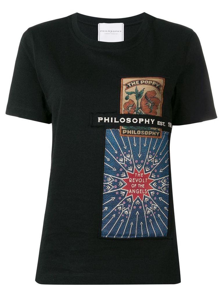 Philosophy Di Lorenzo Serafini The Poppy T-shirt - Black