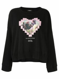 Undercover black graphic sweater